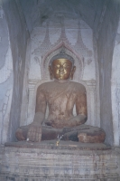 Buddha Inside the Bagan Temple