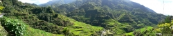 Panorama View of Banaue Rice Terraces