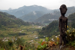 Bulol (Ifugao Rice God) State at Banaue Rice Terraces