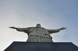 Looking up to Christ The Redeemer