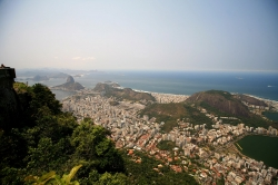 Beautiful View From top of Corcovado