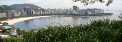 Panorama View of Rio and Corcovado