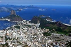 Rio View Shot From Christ Redeemer