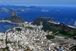 Rio View Shot From Christ Redeemer