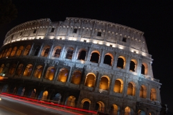 Night Shot of the Colosseum