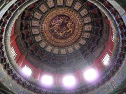 Ceiling of a Temple at The Imperial Garden