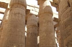 Columns at Karnak Temple