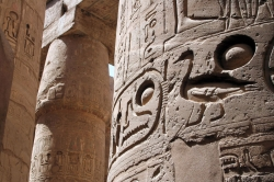 Ramesses Left his Marks at Karnak Temple