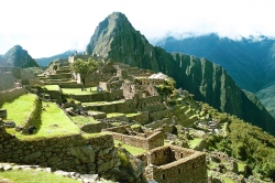 Closer Look at the Steps of Machu Picchu