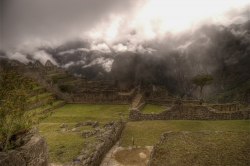 Dawn at Machu Picchu