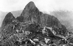 Photo of Machu Picchu Taken in 1911