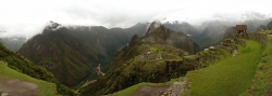 Incredible Panorama View of Machu Picchu