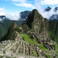 Square View of Machu Picchu