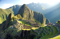 Direct View at Machu Picchu