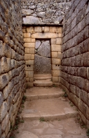 Up Close Shot of the Masonry at Machu Picchu