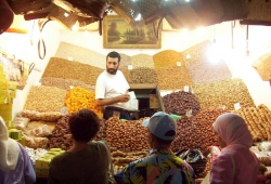 Dealing With Customers at the Marketplace Marrakesh