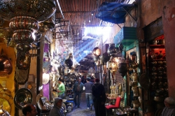 Souk Scene at Marrakech
