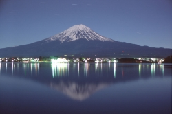 Night View of Fuji
