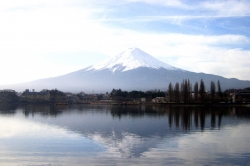 Mout Fuji at Kawaguchi Lake