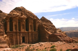 Beautiful Monastery View at Petra