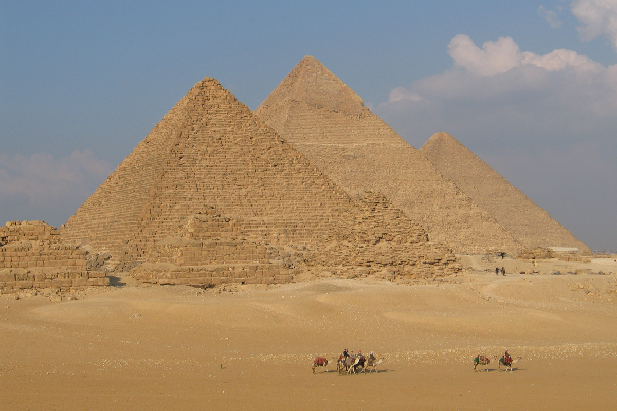 pyramids of egypt information