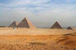 All 3 Great Pyramids of Giza