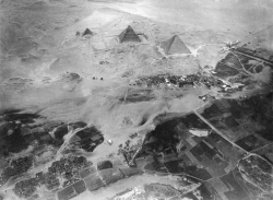 Aerial Photography Taken From Eduard Spelterinis Balloon on November 21, 1904