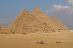 Giza Pyramids of Cairo