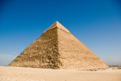 Pyramid of Khafre Up Close