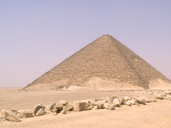 Red Pyramid Third Attempt by Snefru, 341 feet
