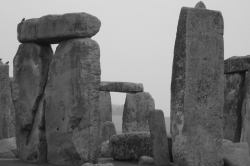 Stonhenge in Black & White