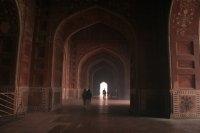 Inside the Taj Mahal Mosque