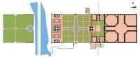 Map of Taj Mahal