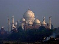 Taj Mahal View From Outside