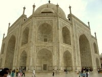 Taj Mahal from the Side Upclose