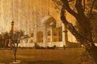 Taj Mahal Remade With Orange