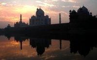 Winter Sunrise At the Taj