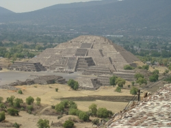 View of the Pyramid of the Moon