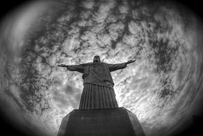 Christ The Redeemer Statue World Perspective