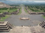Teotihuacán Pyramids in the Valley of Mexico