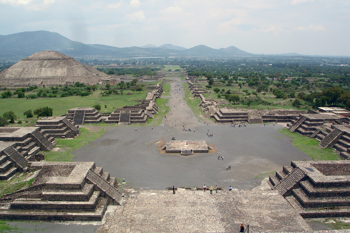Teotihuacan World Map.Teotihuacan Pyramids Pictures Photos Map Facts