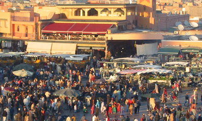 Marrakech Main Public Square
