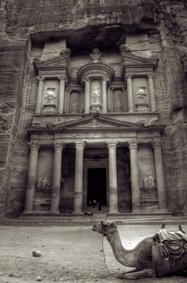 Petra Jordan - View of Treasury