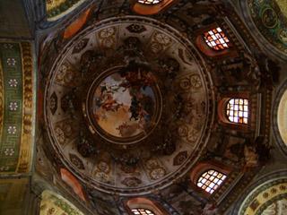 San Vitale Basilica's Ceiling