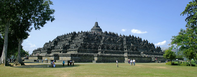 Borobudur Northwest View