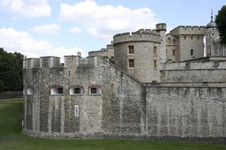 Corner of Tower of London