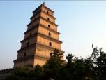 Big Wild Goose Pagoda in Xian