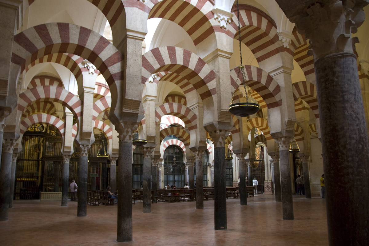 Great mosque of cordoba history location for Interior mezquita de cordoba