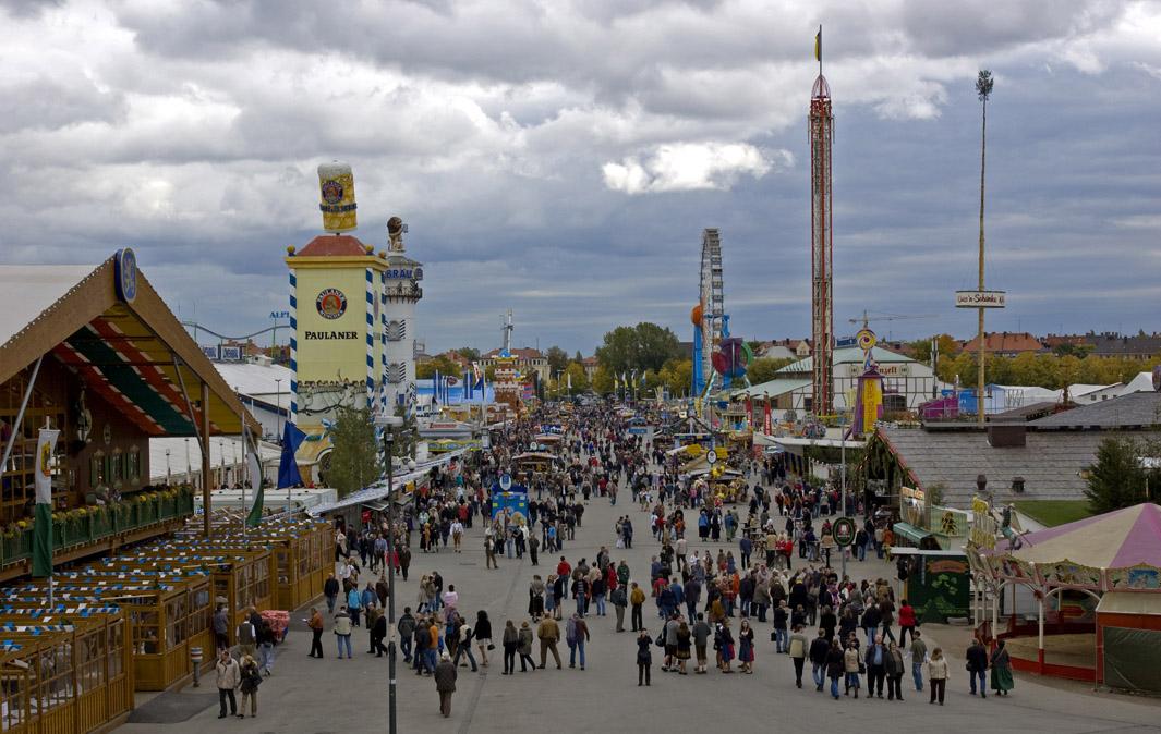oktoberfest location germany