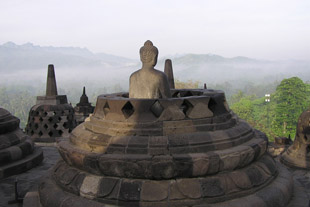 Open Stupa at Borobudur